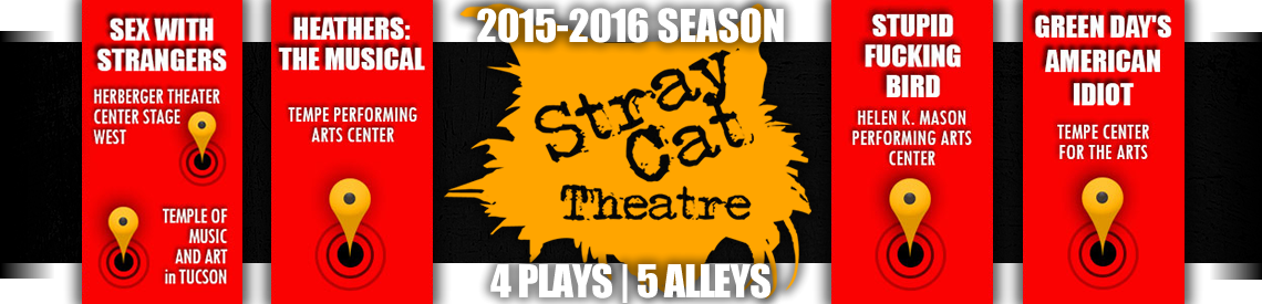 Stray Cat Theatre 2015-2016 Banner