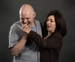 Scott Schmelder as Lecter and Brandi Bigley as Clarice