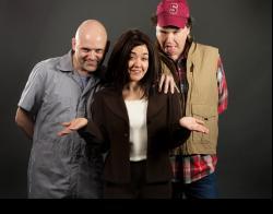 Scott Schmelder as Lecter, Brandi Bigley as Clarice, and David Chorley as Buffalo Bill